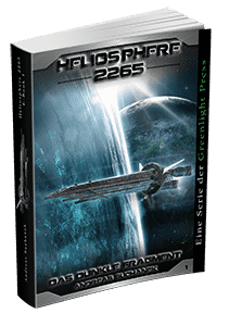 """Heliosphere 2265 - Band 1: Das dunkle Fragment"" von Andreas Suchanek. Erschienen in der Greenlight Press."