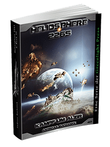 """Heliosphere 2265 - Band 40: Kampf um Alzir"" von Andreas Suchanek. Erschienen in der Greenlight Press."