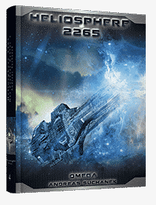 """Der Fraktal-Zyklus 4: Omega"" von Andreas Suchanek. Erschienen in der Greenlight Press."