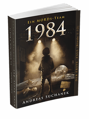 """Ein MORDs-Team - Band 11: 1984"" von Andreas Suchanek. Erschienen in der Greenlight Press."