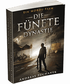 """Ein MORDs-Team - Band 13: Die fünfte Dynastie"" von Andreas Suchanek. Erschienen in der Greenlight Press."