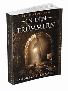 """Ein MORDs-Team - Band 7: In den Trümmern"" von Andreas Suchanek. Erschienen in der Greenlight Press."